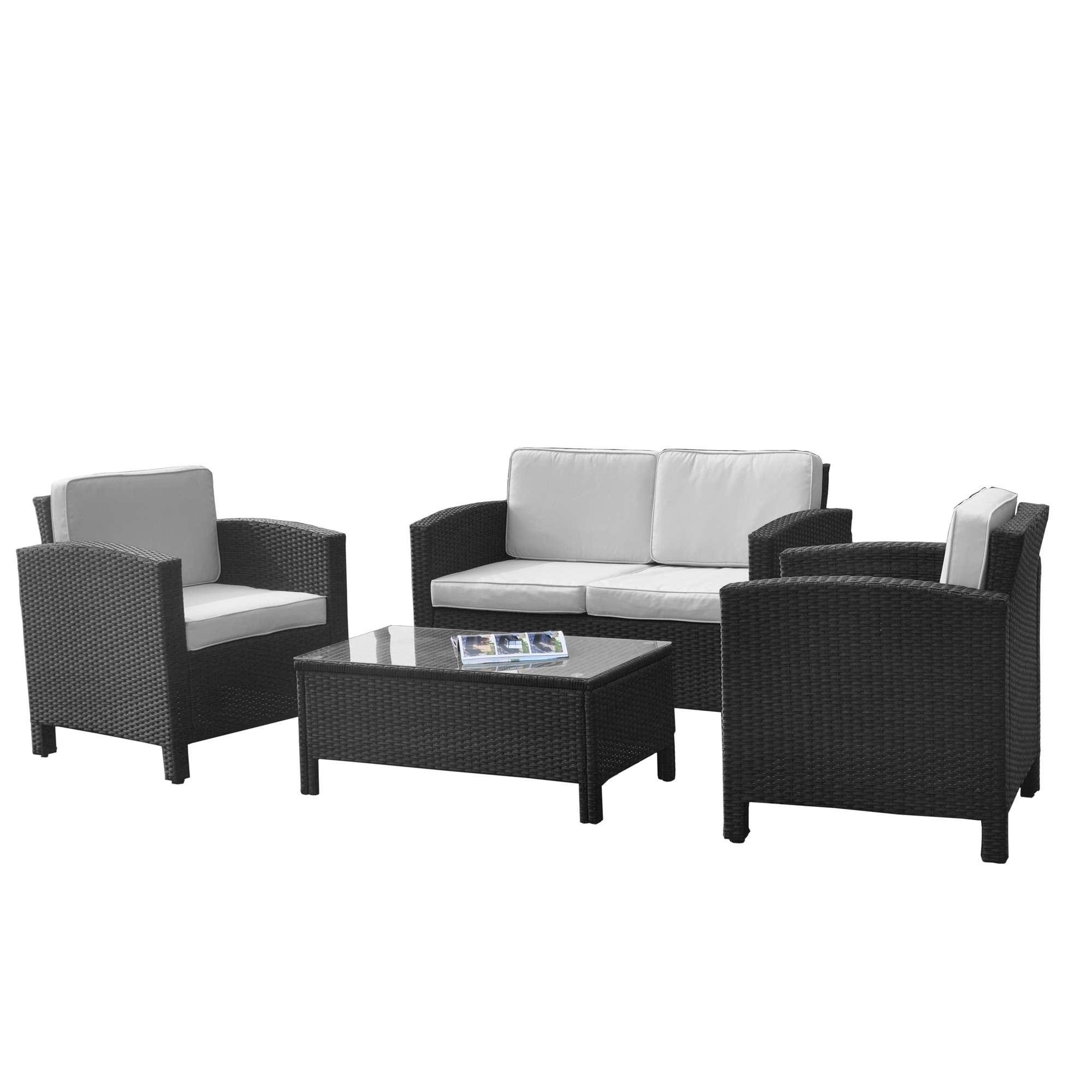 Lounge Set Balkon ▻ günstig ◅ Balkon Lounge Set kaufen