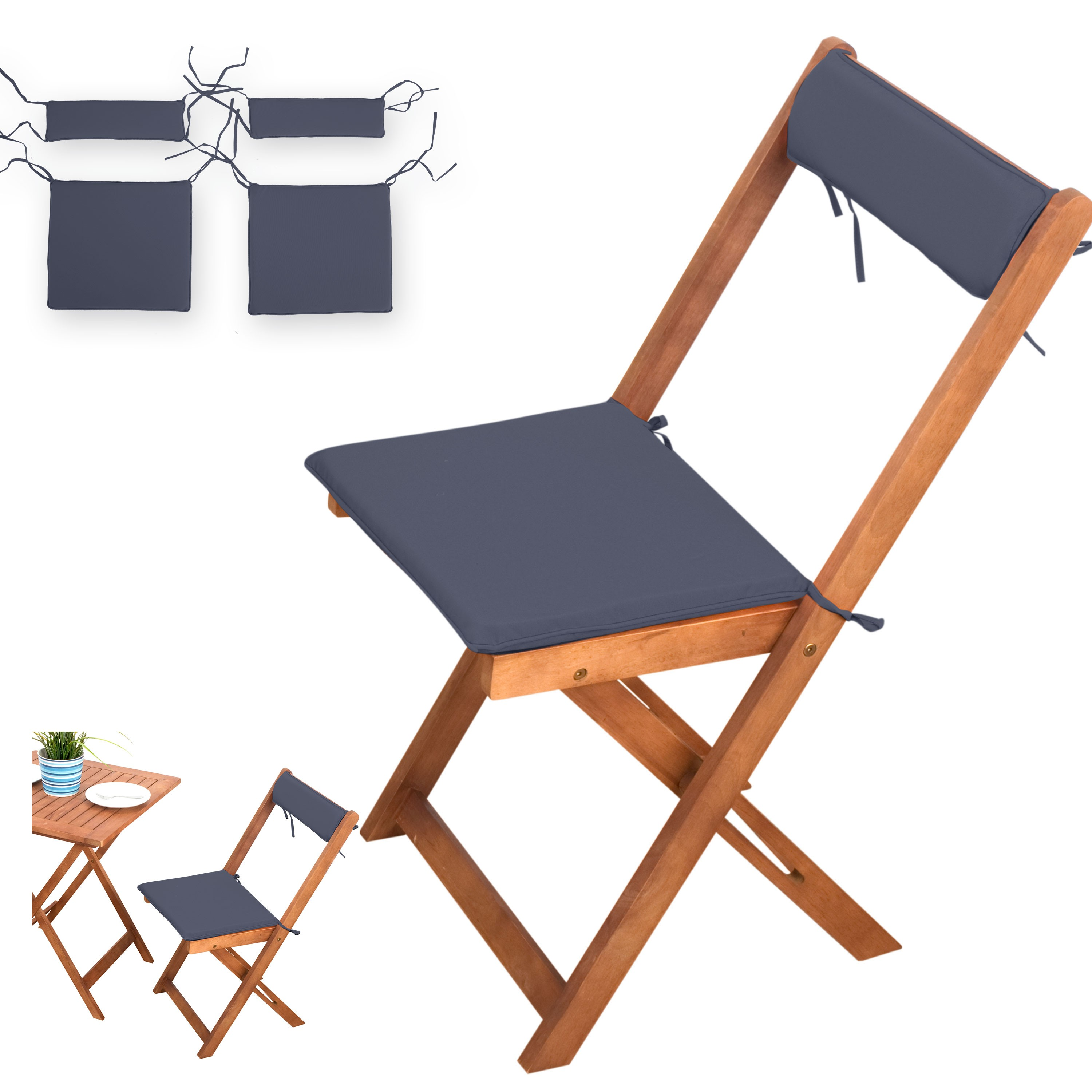 balkon set auflagen auflagen xinro onlineshop. Black Bedroom Furniture Sets. Home Design Ideas