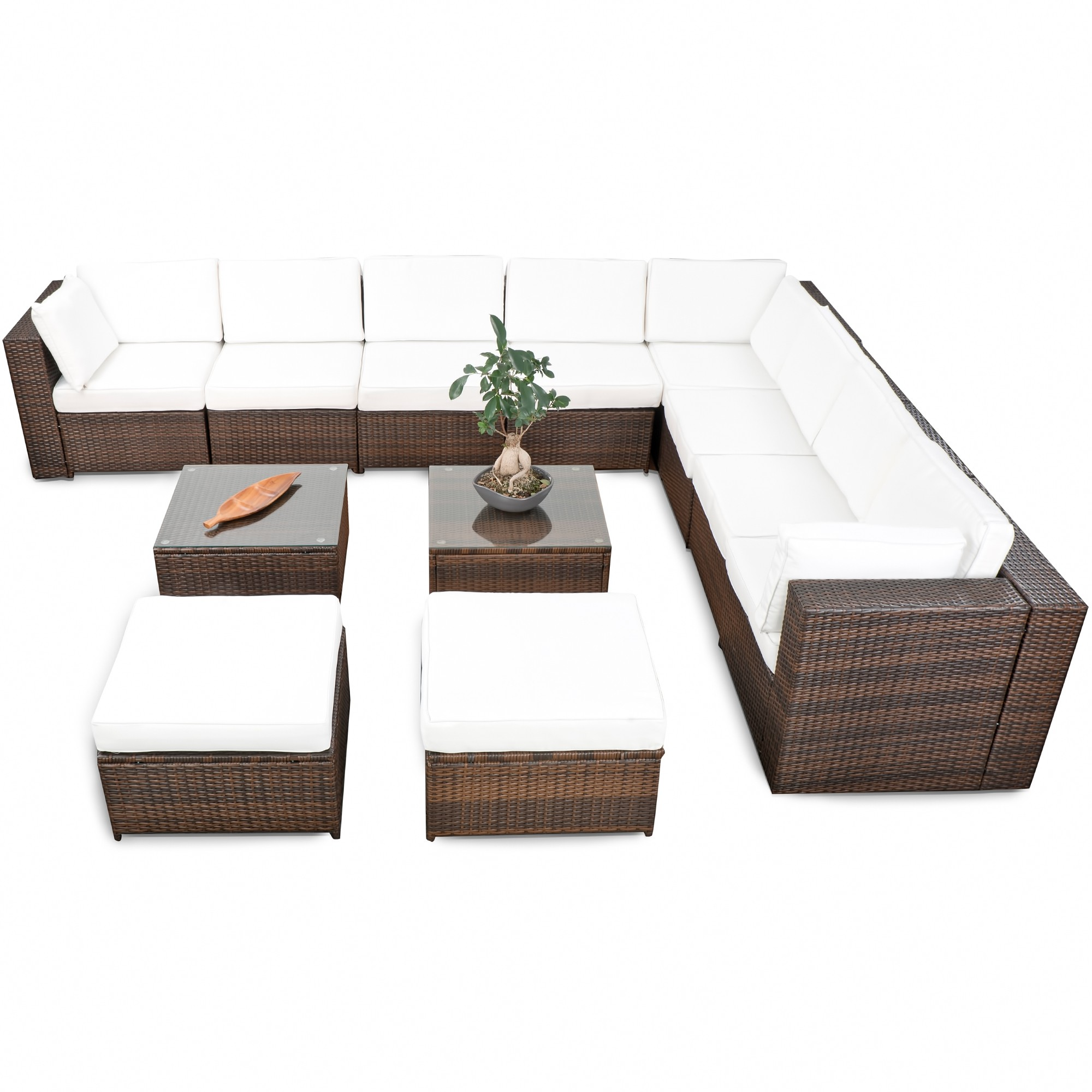 lounge rattan g nstig rattan lounge kaufen. Black Bedroom Furniture Sets. Home Design Ideas