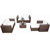 Strandkörbe Und Gartenmöbel Sitzgruppen Polyrattan Holz