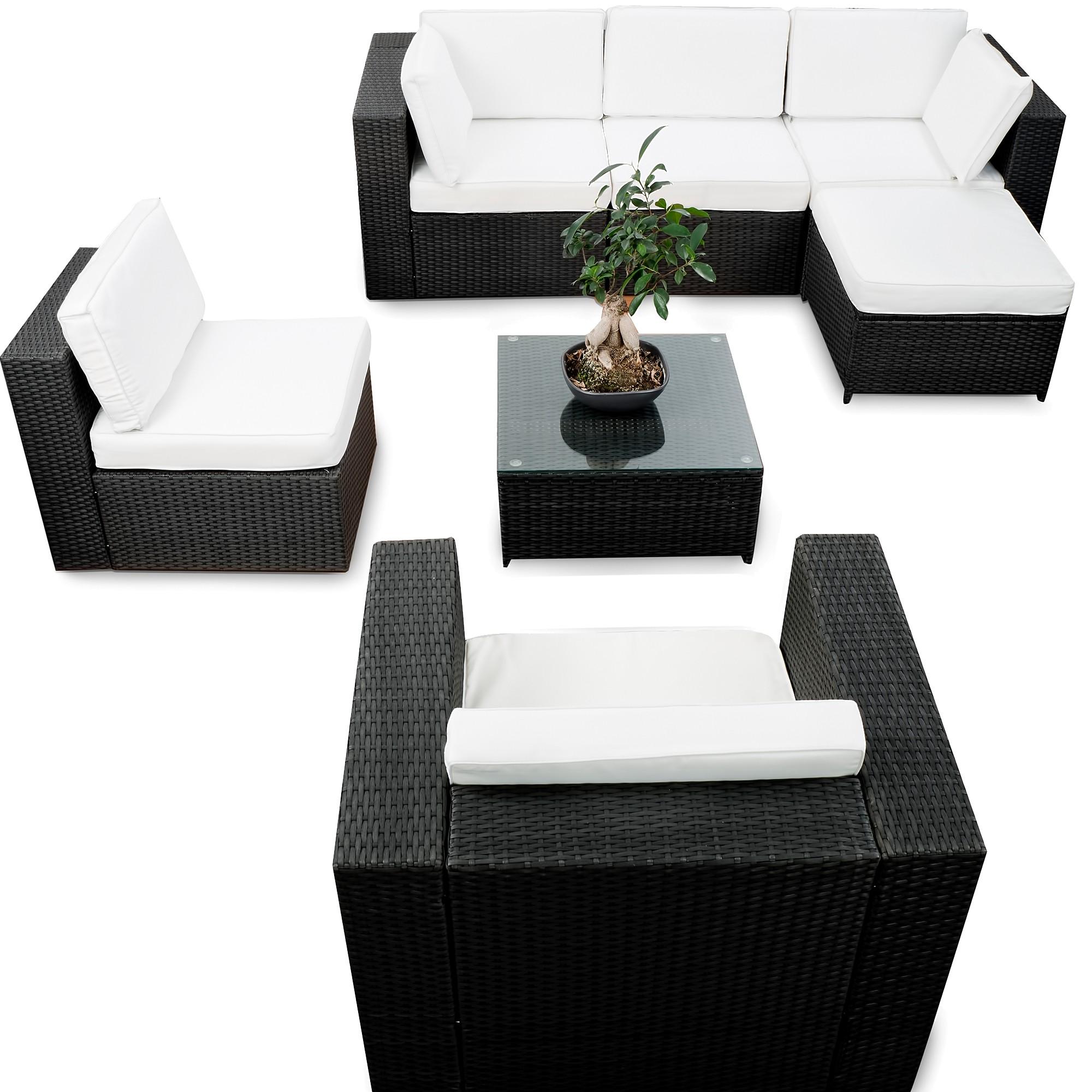 Rattan lounge g nstig lounge rattan kaufen for Rattan loungemobel anthrazit