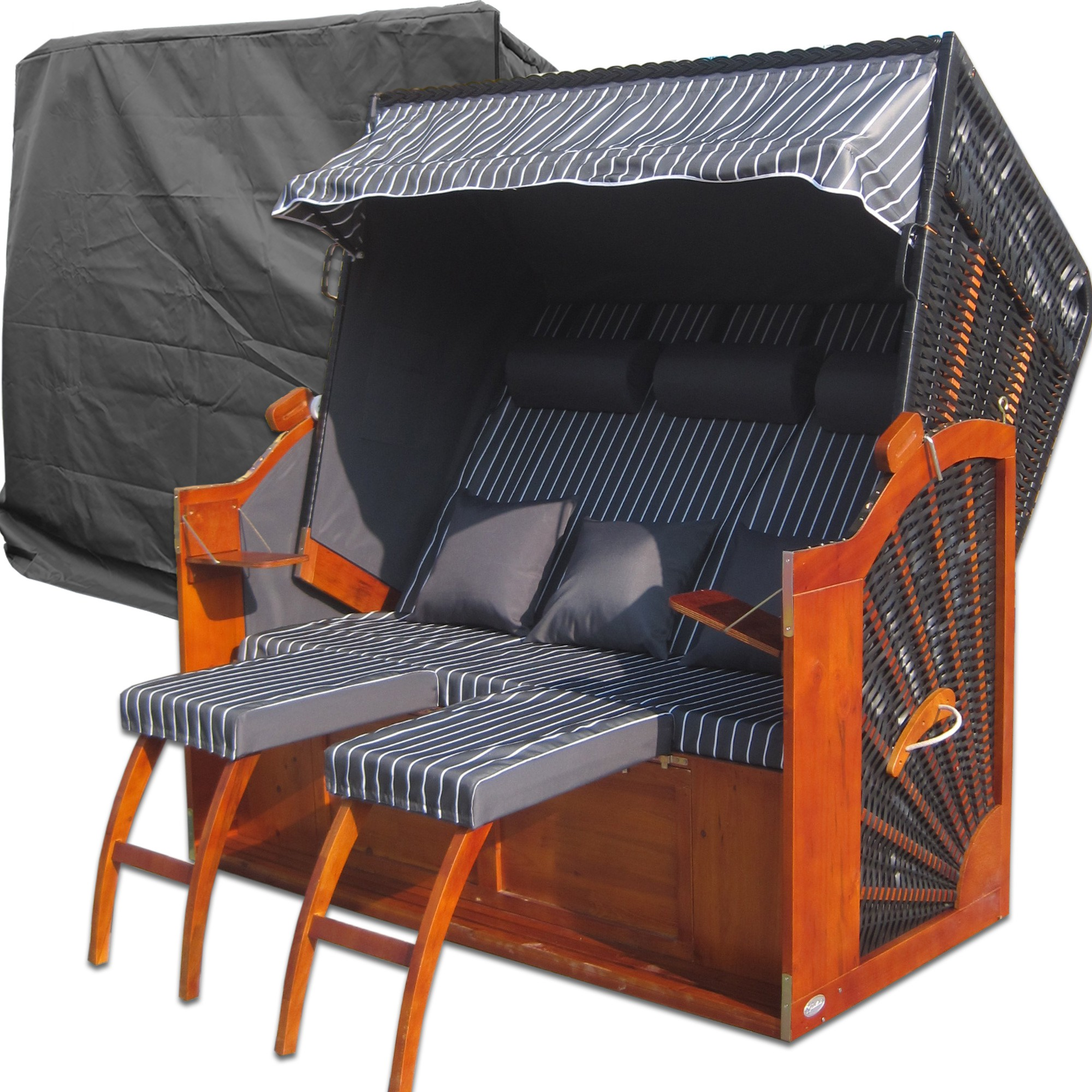 strandkorb r gen g nstig strandkorb xxl kaufen. Black Bedroom Furniture Sets. Home Design Ideas