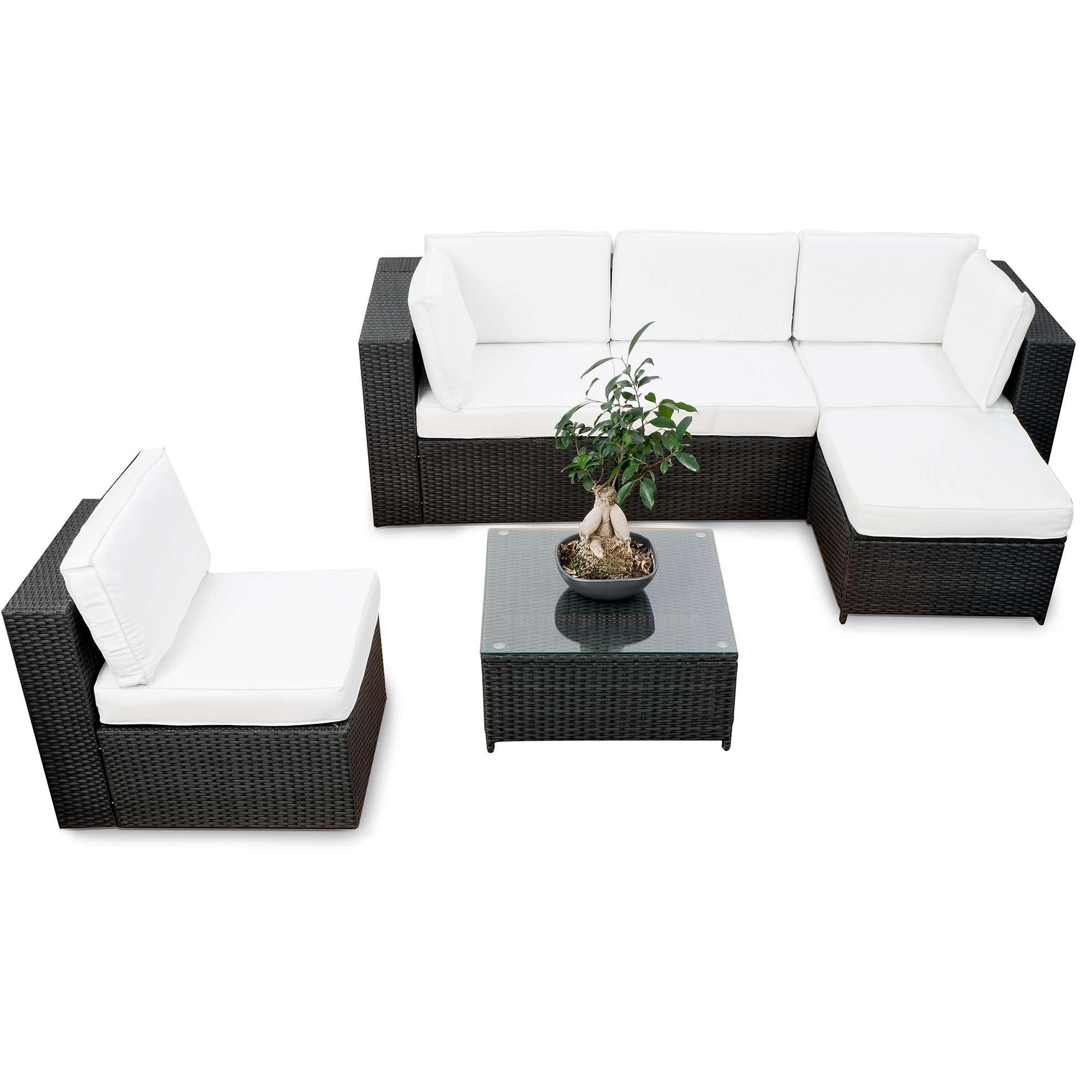 Gartenlounge Rattan ▻ günstig ◅ Rattan Garten Lounge kaufen