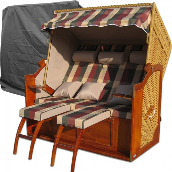3 sitzer strandkorb kaufen xxl strandkorb g nstig. Black Bedroom Furniture Sets. Home Design Ideas