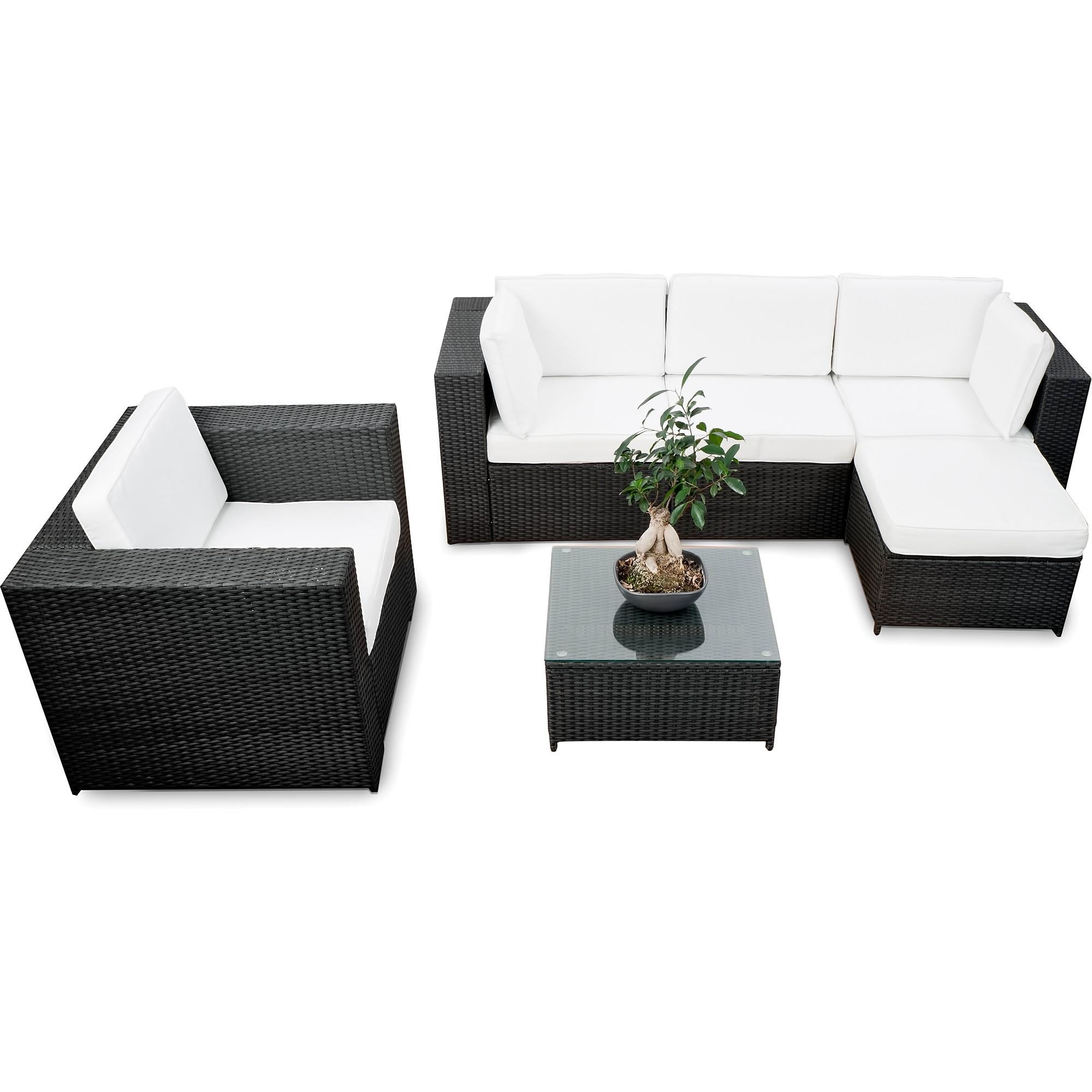 lounge set garten g nstig garten loungeset kaufen. Black Bedroom Furniture Sets. Home Design Ideas