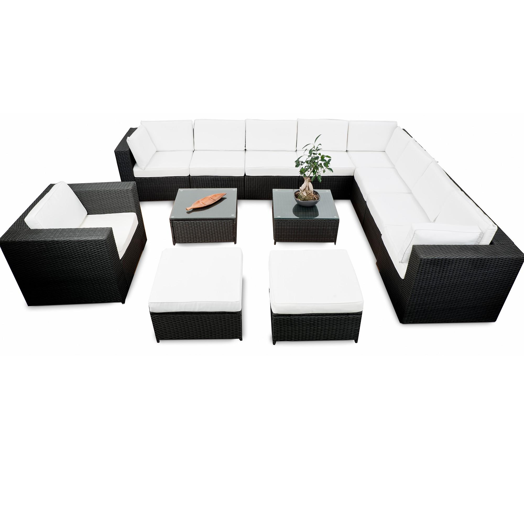 Gartenmoebel Rattan Lounge ▻ günstig ◅ Rattan Lounge Gartenmöbel ...