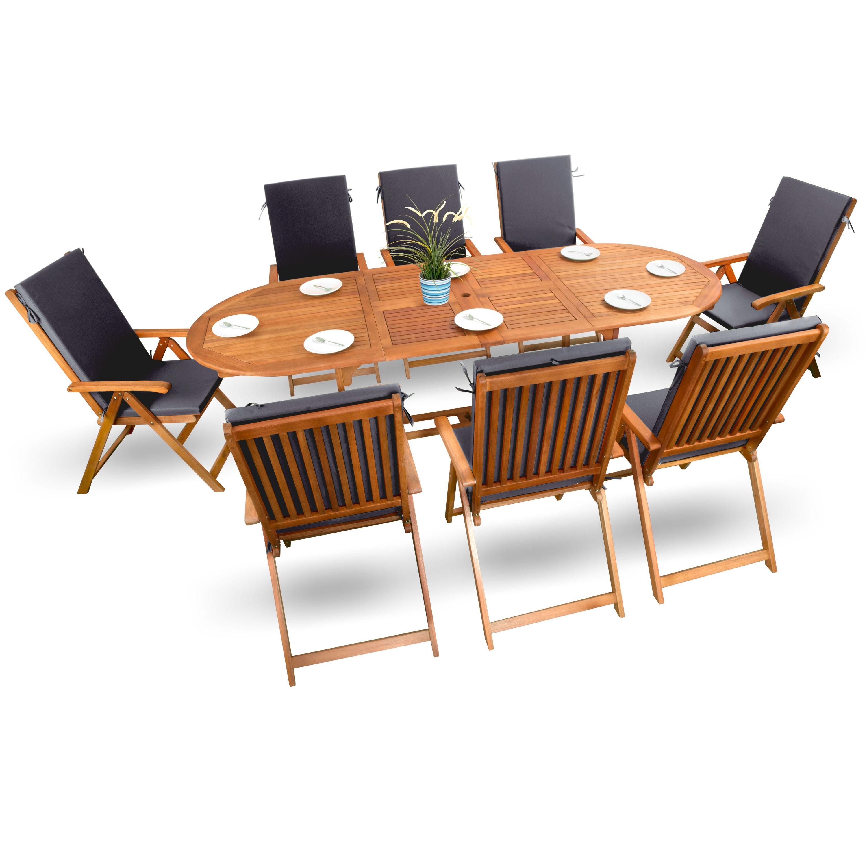 gartenmobel set mit bank. Black Bedroom Furniture Sets. Home Design Ideas