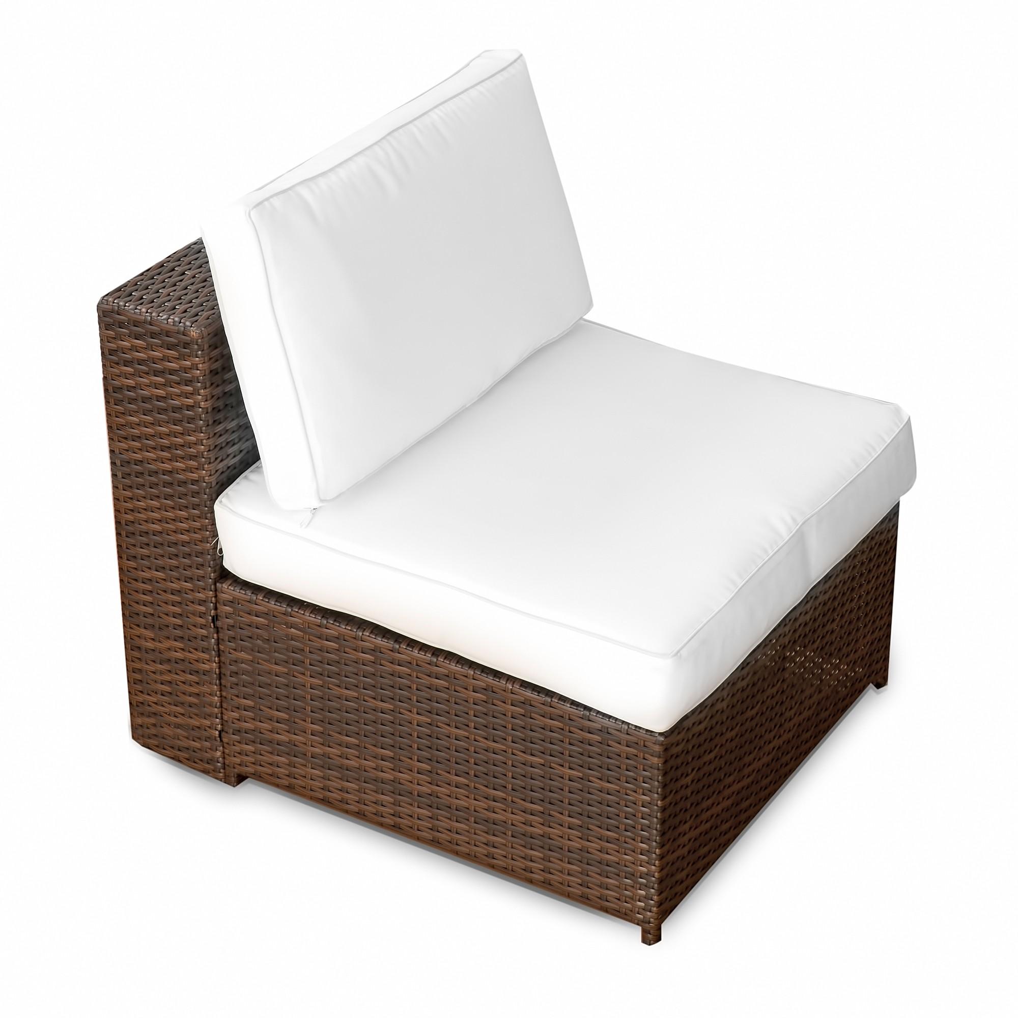 Lounge sessel polyrattan braun  Lounge Sessel Garten ▻ günstig ◅ Garten Lounge Sessel kaufen