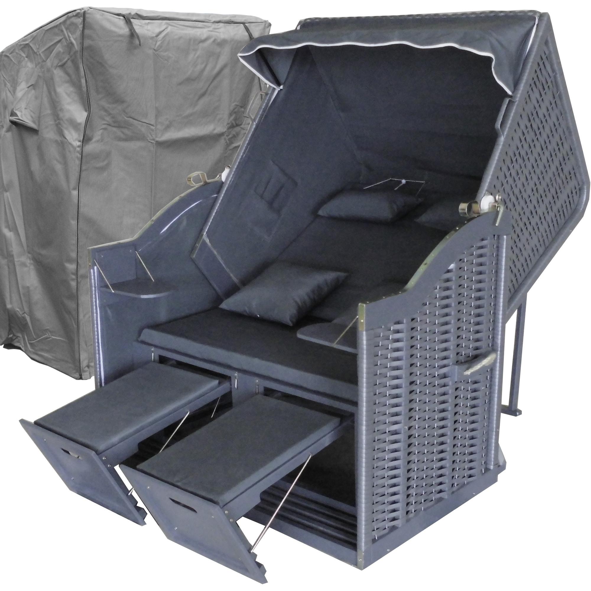 strandkorb xl balkon g nstig strandkorb xl anthrazit. Black Bedroom Furniture Sets. Home Design Ideas