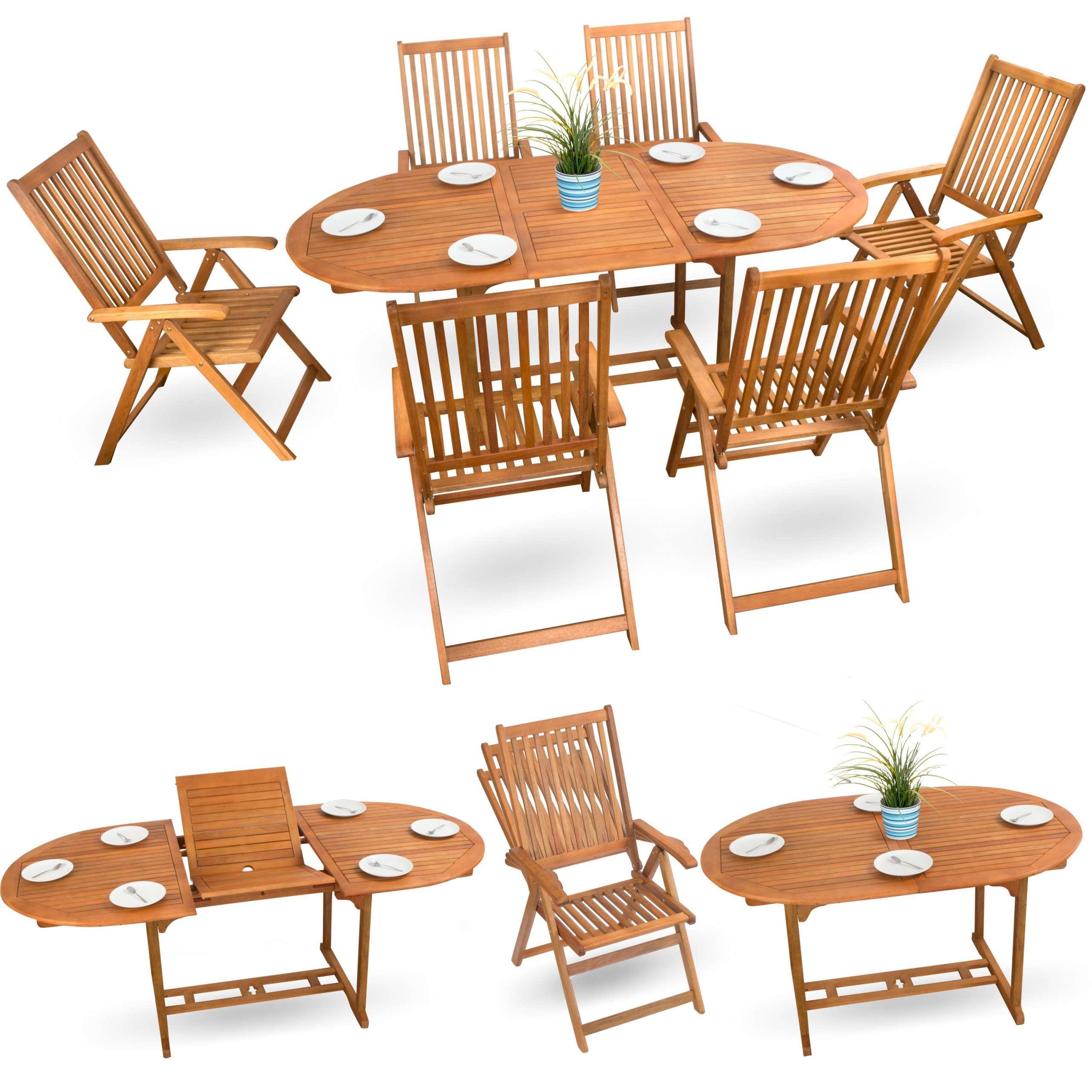 Gartenmöbel Akazie Angebote ▻ günstig ◅ Holz Sitzgruppen kaufen
