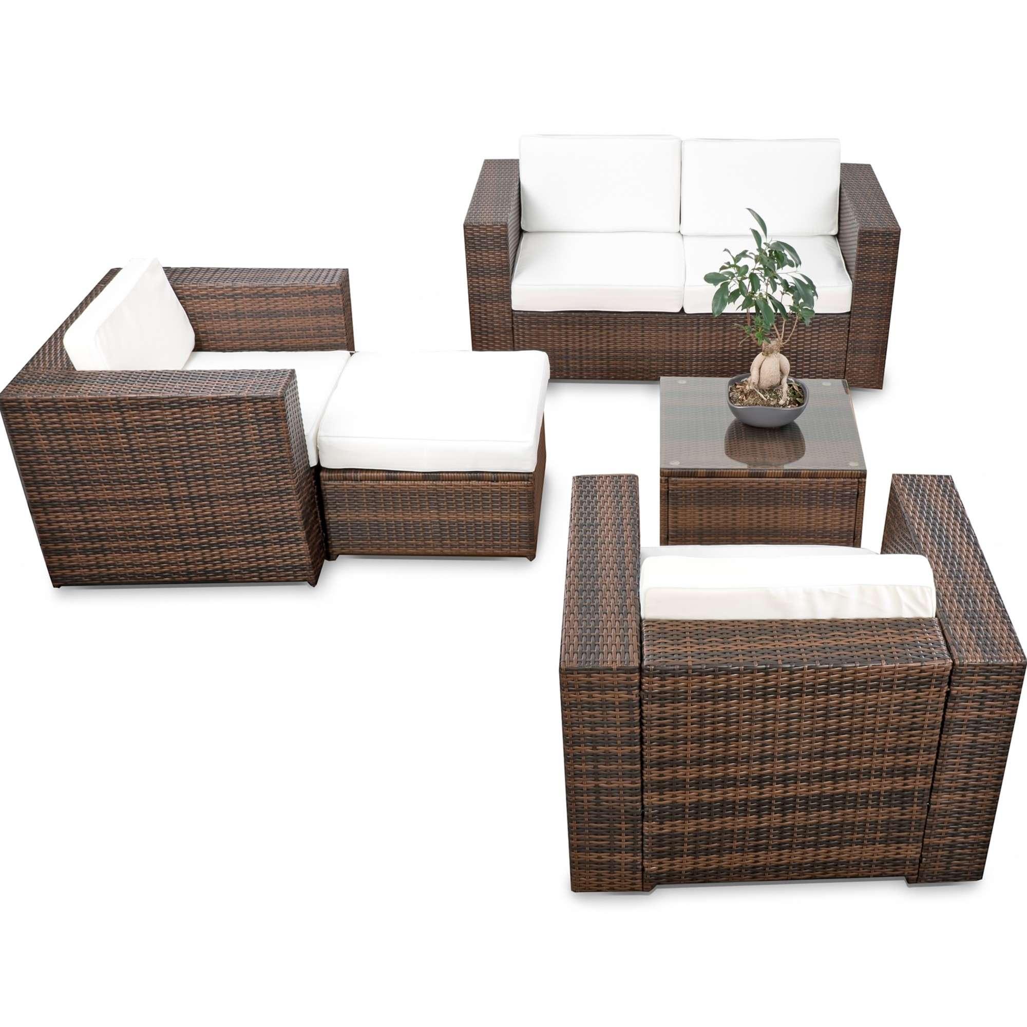 balkon loungemoebel xl 15 tlg polyrattan braun 1280x1280 2x