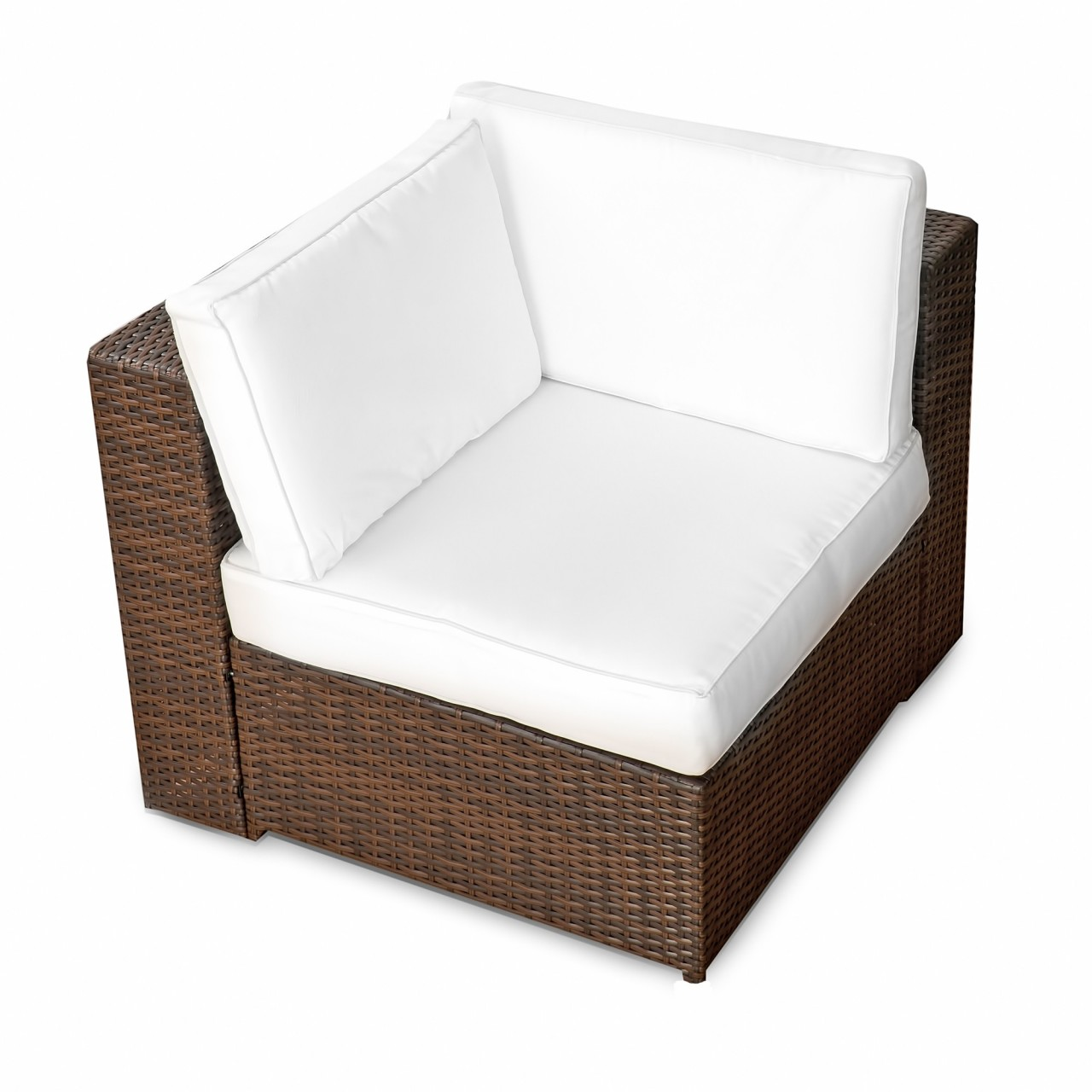 Loungesessel braun  Rattan Lounge Sessel ▻ günstig ◅ Loungesessel Rattan kaufen