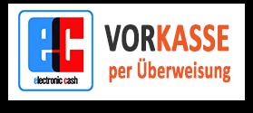 Vorkassen / Überweisung