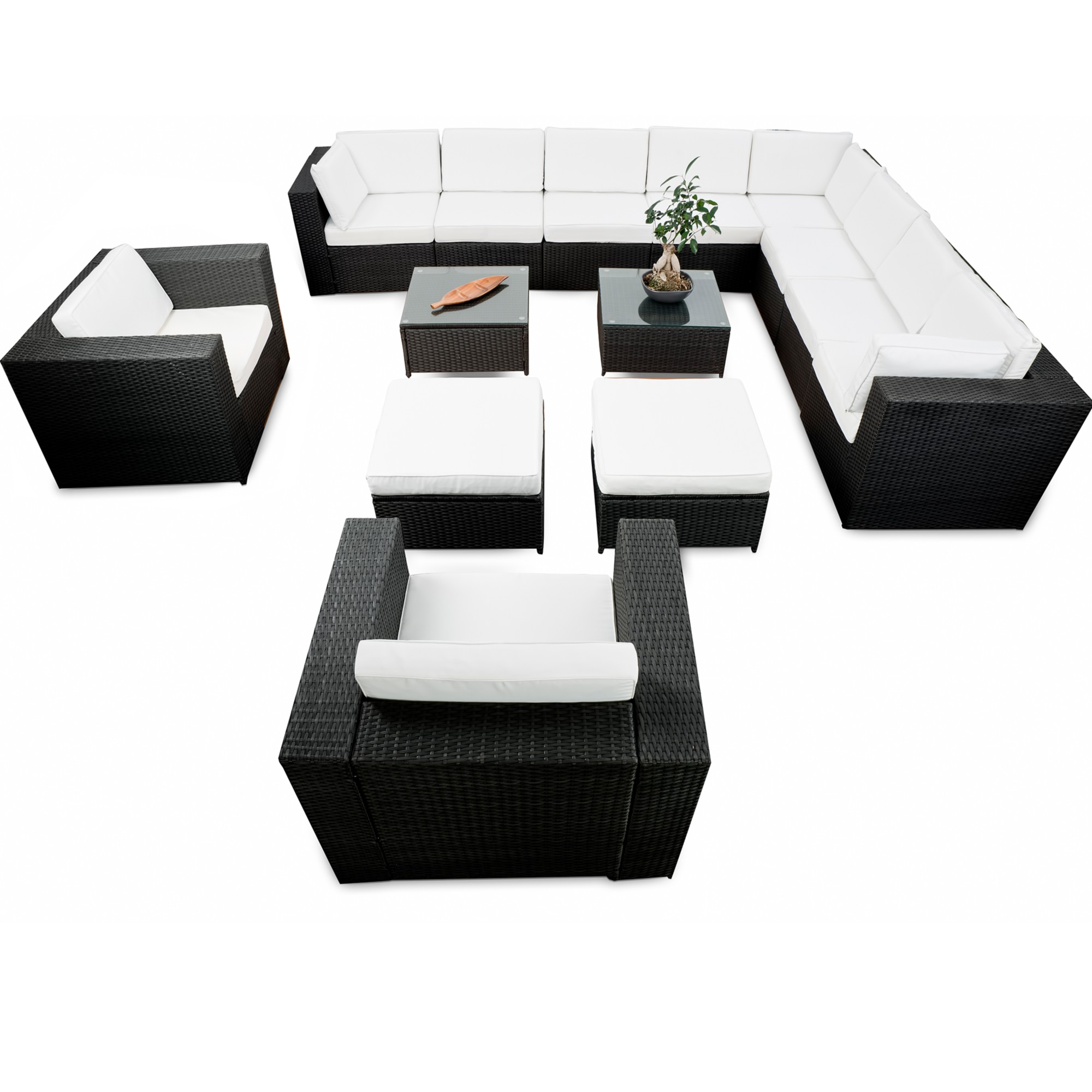 rattan lounge g nstig lounge rattan kaufen. Black Bedroom Furniture Sets. Home Design Ideas