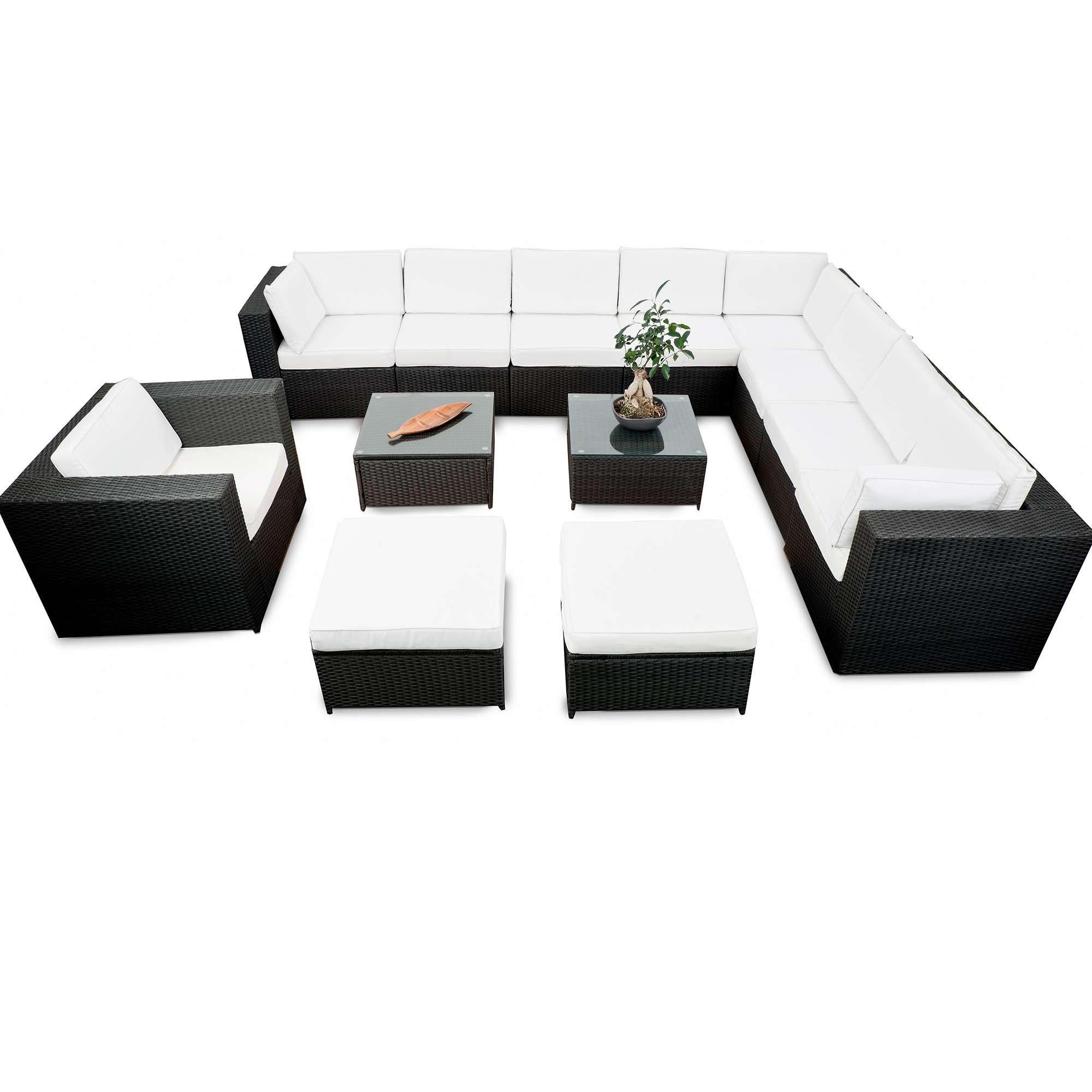 best gartenmobel rattan lounge set ideas - sohopenthouse