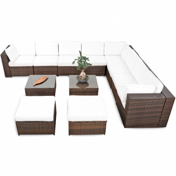 Rattan lounge braun  Lounge Rattan ▻ günstig ◅ Rattan Lounge kaufen