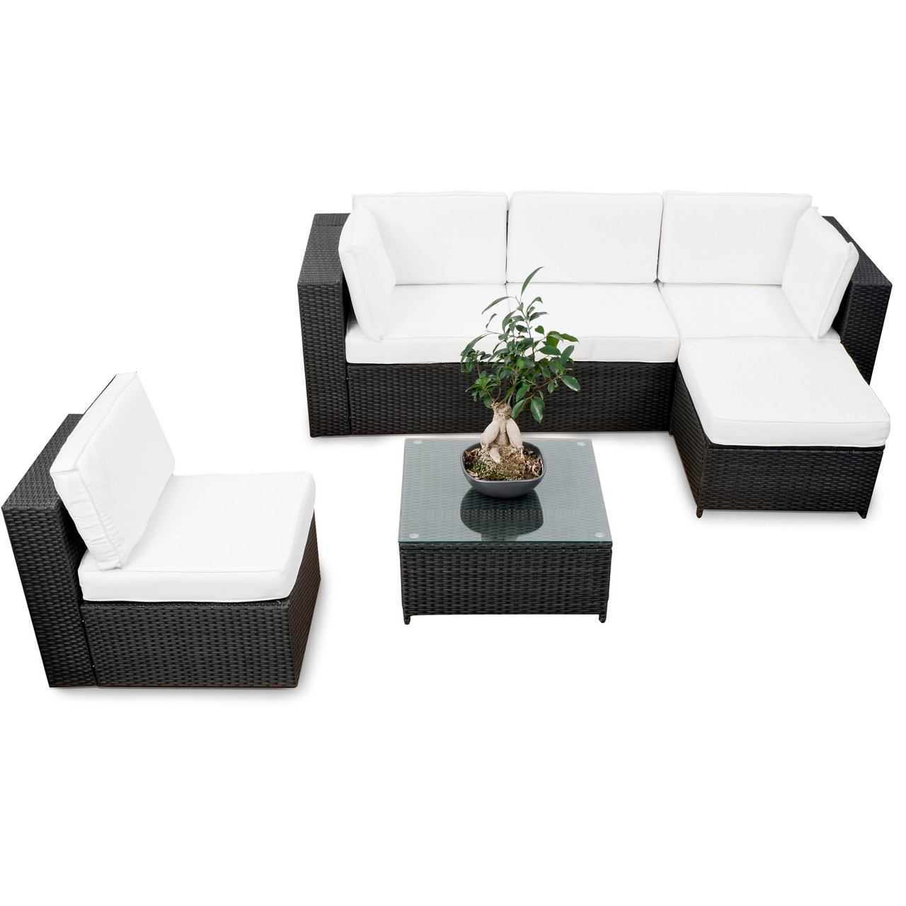 Elegant Gartenlounge Rattan ▻ Günstig ◅ Rattan Garten Lounge Kaufen