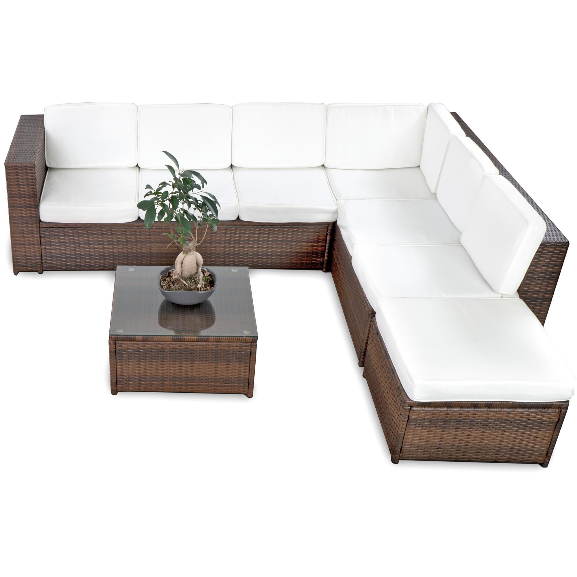 rattan lounge set g nstig lounge set rattan kaufen. Black Bedroom Furniture Sets. Home Design Ideas