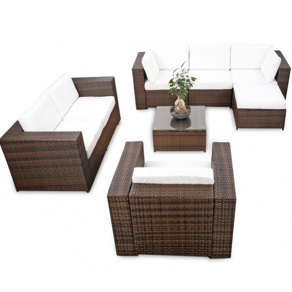 Loungemöbel Polyrattan ▻ günstig ◅ Polyrattan Loungemöbel kaufen