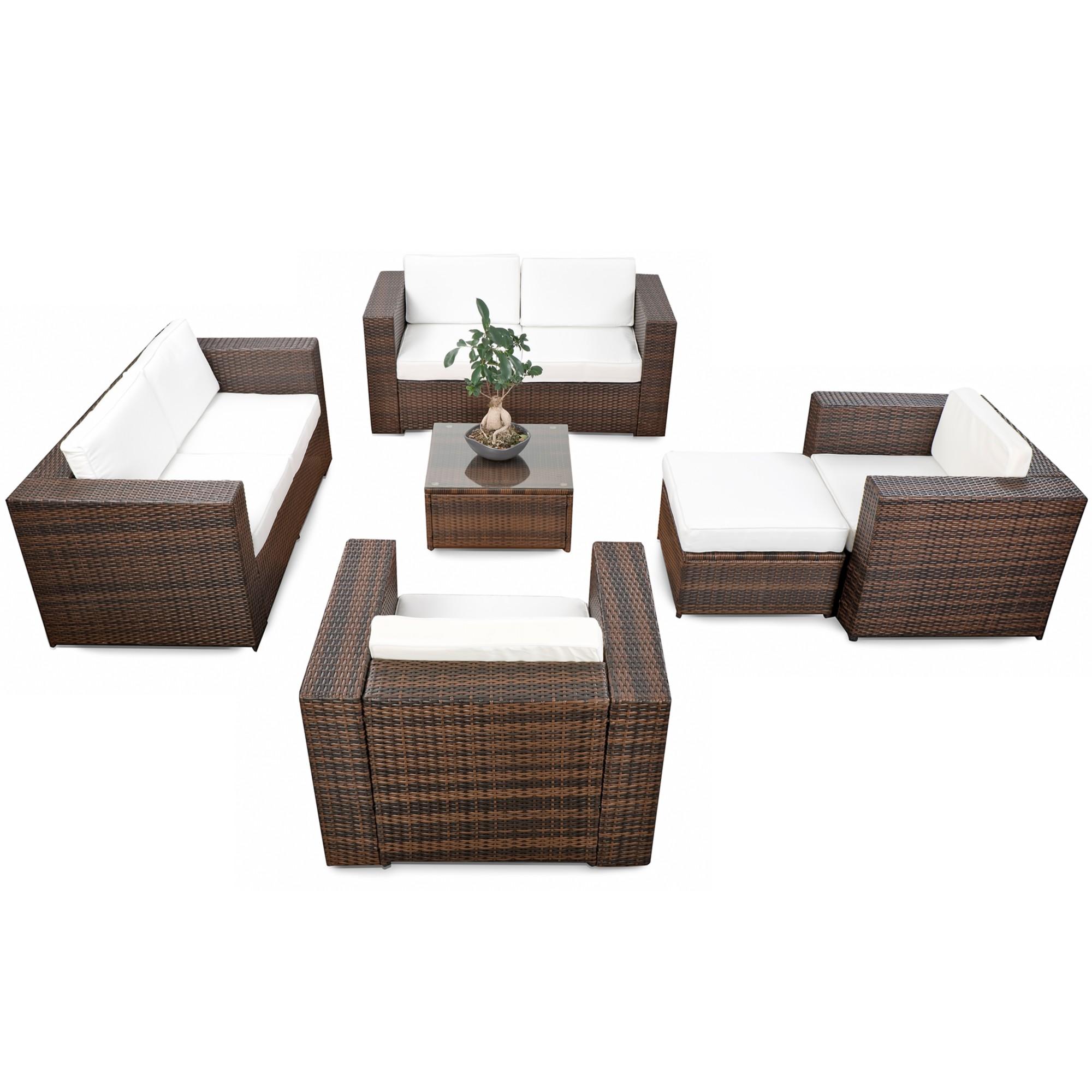 Garten Loungemöbel Set ▻ günstig ◅ Loungemöbel Set Garten kaufen