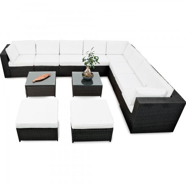 Polyrattan Lounge Set ▻ günstig ◅ Lounge Set Rattan kaufen