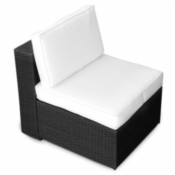 Polyrattan lounge sessel  XXL Gartenmöbel Polyrattan Lounge Sessel Lounge Stuhl Garten Sofa ...